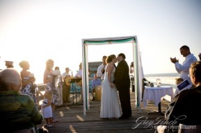 Sneak K For T And N What An Awesome Wedding 6am Sunrise Ceremony On Cocoa Beach Pier